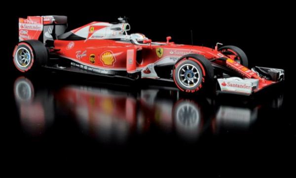 BBR MODELS <MINICHAMPS Exclusive>1/18 フェラーリ SF16-H Sベッテル 2016年イタリアGP