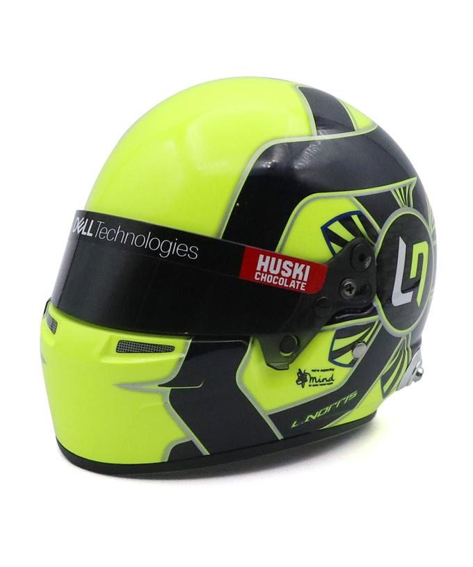 2021 L.ノリス マクラーレン 1/2ヘルメット【国内正規入荷商品】