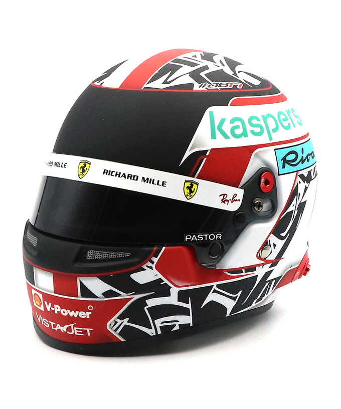 2021 C.ルクレール フェラーリ 1/2ヘルメット【国内正規入荷商品】