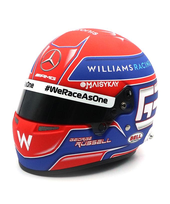 2021 G.ラッセル ウィリアムズ 1/2ヘルメット【国内正規入荷商品】
