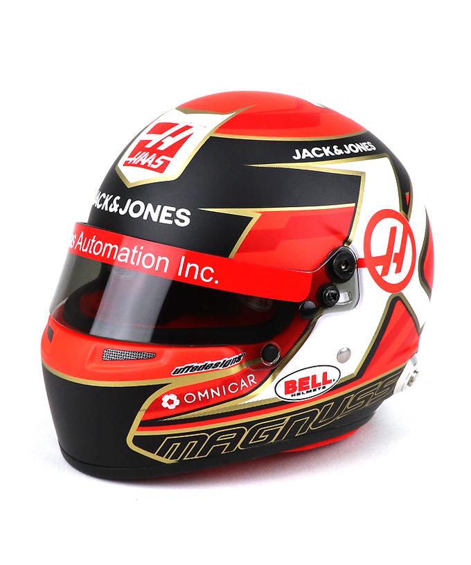K.マグヌッセン ハース F1 2019 1/2ヘルメット