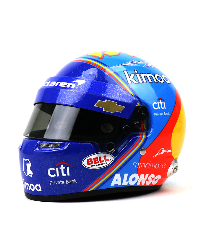 F.アロンソ 2019 マクラーレン インディ500  1/2 ヘルメット