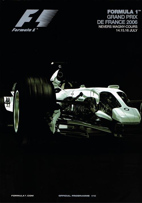 F1公式プログラム 2006年 フラン...