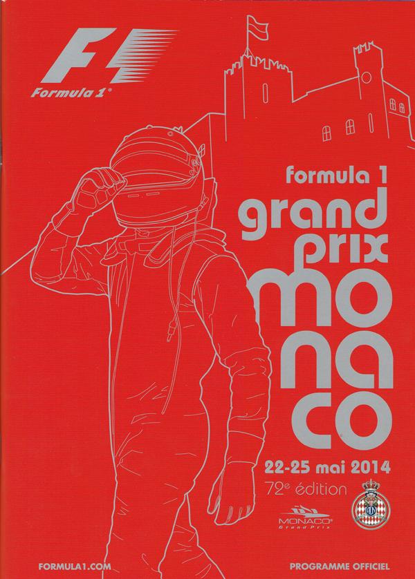 F1公式プログラム 2014年モナコGP