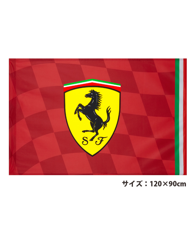 2019 FERRARI フェラーリ SF フラッグ サイズL(120×90cm)