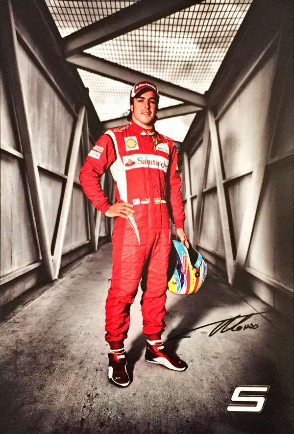 2011 フェラーリ F.アロンソ ドライバーズカード