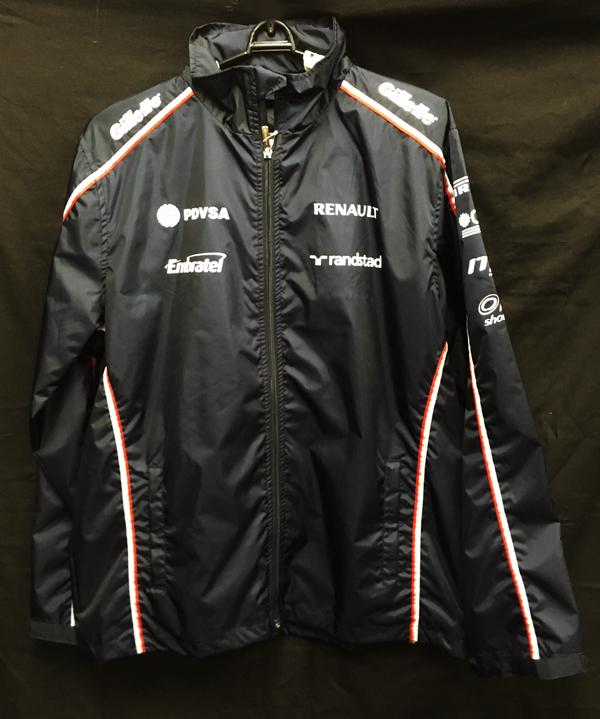 【SALE】2012  ウィリアムズ チーム支給品 レインジャケット サイズL 新品同様