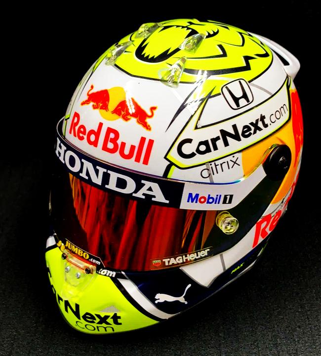 【並行輸入品】M.フェルスタッペン 2021年オーストリアGP限定 レッドブル・ホンダ 1/2ヘルメット