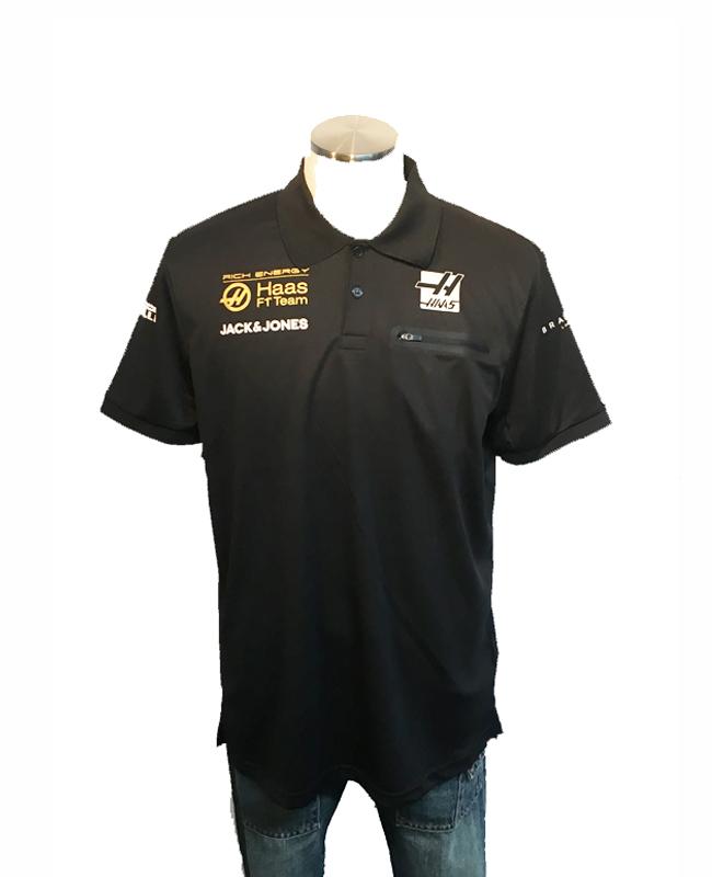 ハースF1チーム 2019 チーム支給品 チームポロシャツ サイズL  新品