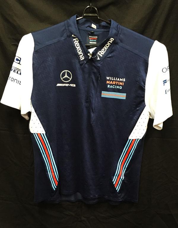 2018 ウィリアムズ チーム支給品 ZIPTシャツ ノンアルコールGP用 USED サイズXL (A)