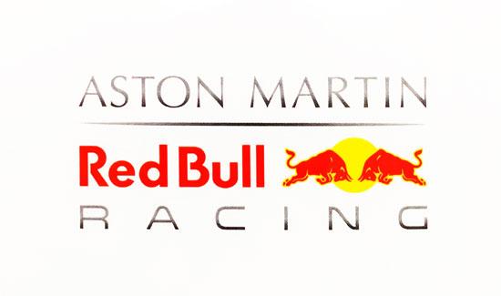 ASTON MARTIN REDBULL RACING レッドブル キャンペーンステッカー
