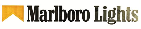 マールボロ(Marlboro) ライト1980~90年代 プロモーションステッカー
