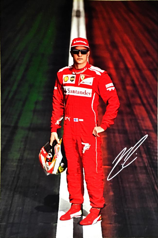 2014フェラーリドライバーズカード K.ライコネン(カードのみ)
