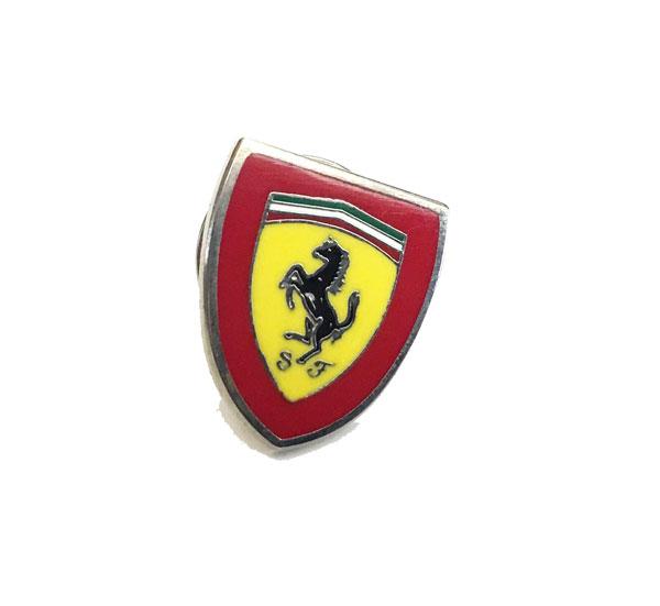 フェラーリ SF PINS(ピンバッチ) 赤