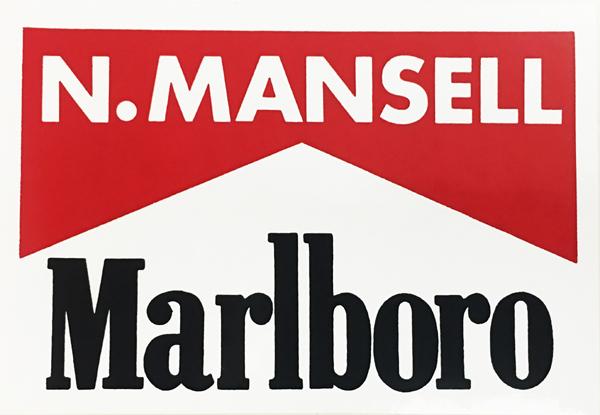 1990年代 マールボロ マンセル ステッカー