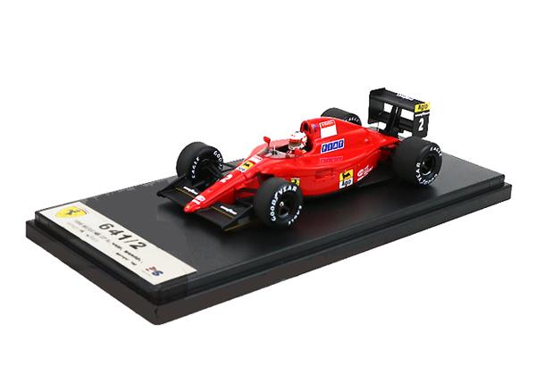 国内限定品 ルックスマート 1/43 フェラーリ 641/2  N.マンセル 1990年メキシコGP2位 No.2