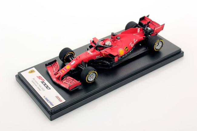 ルックスマート 1/43 フェラーリSF1000 S.ベッテル 2020バルセロナテスト No.5
