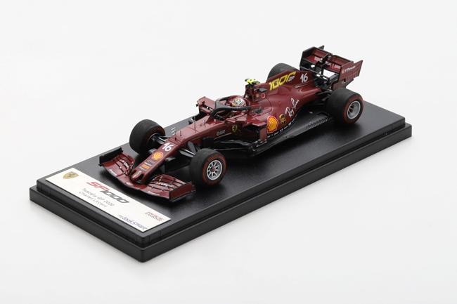 【並行輸入品】【再入荷】ルックスマート 1/43 フェラーリ SF1000 C.ルクレール 2020年トスカーナGP No.16