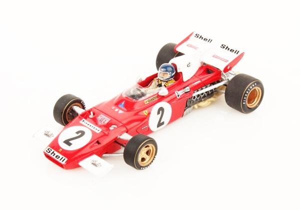 ルックスマート 1/43  フェラーリ 312B2  J.イクス 1971年オランダGP優勝 No.2