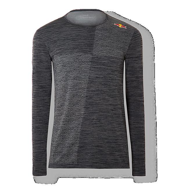 Red Bull Athletes Collection(レッドブルアスリートコレクション)アスリート用ロングスリーブTシャツ グレー