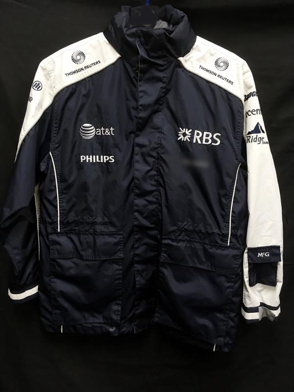 2010 ウィリアムズ チーム支給品 2WAYジャケット(ベスト付) サイズM USED