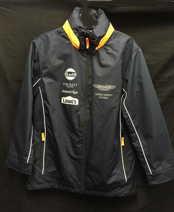 アストンマーチンレーシング チームジャケット(ハケット製) サイズM USED ※サイズ:着丈80×身幅57.5cm