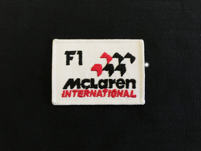 マクラーレン インターナショナル ワッペン 1980年代物