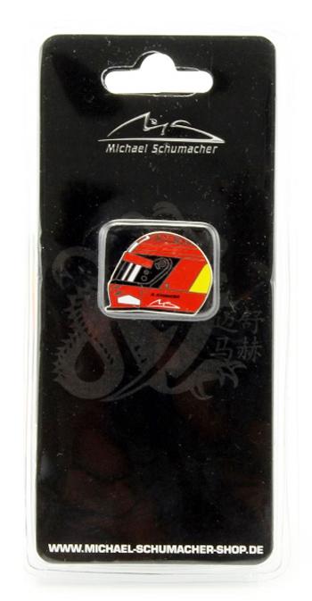 ミハエル・シューマッハ コレクション ヘルメットピンバッチ 2000年3THワールドチャンピオン