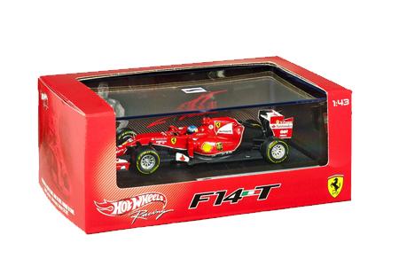 マテル 1/43 フェラーリ F14-T F.アロンソ NO.14(ドライバー付)2014