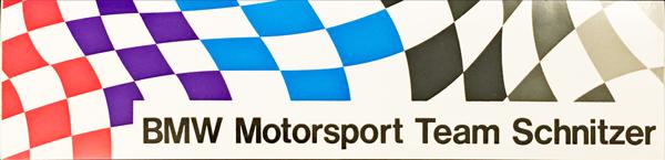 BMW モータースポーツ プロモーションステッカー