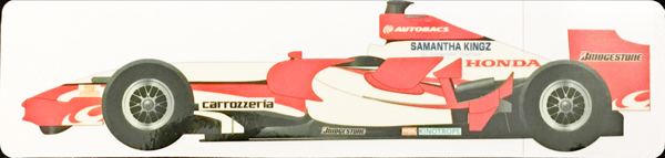 スーパーアグリ F1 2007年 マシンステッカー