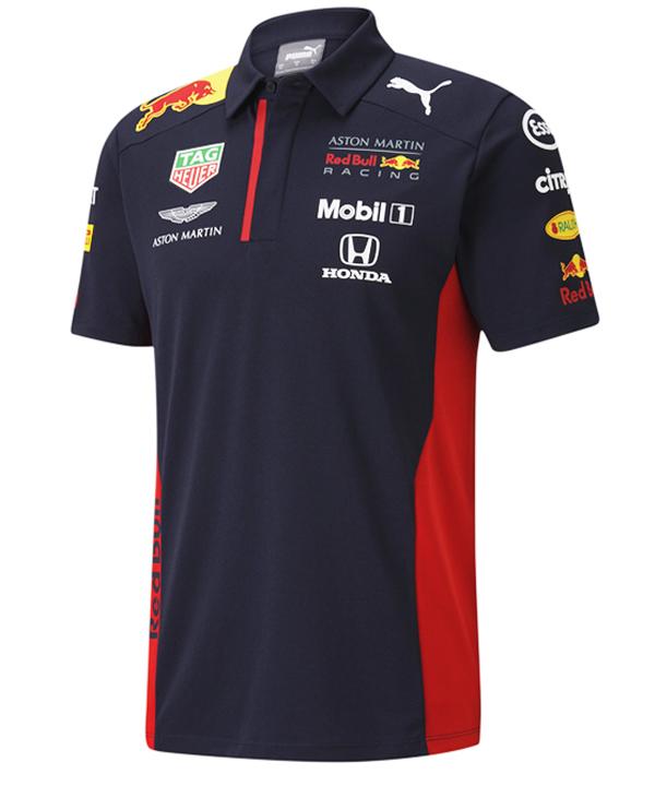 【追加入荷】2020 PUMA ASTON MARTIN REDBULL RACING レッドブル・ホンダ チームレプリカポロシャツ