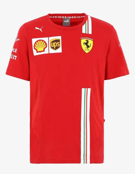 PUMA FERRARI 2021SS フェラーリ チームレプリカ Tシャツ