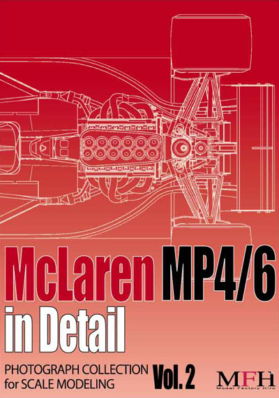 "PHOTOGRAPH COLLECTION Vol.2 ""McLaren MP4/6 in Detail"""