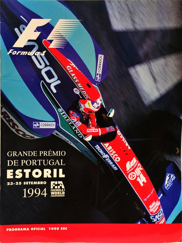 F1公式プログラム 1994年ポルトガルGP
