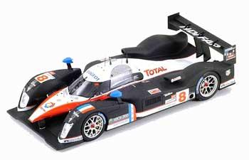 スパーク プジョー908 HDi FAP 2007年ルマン24時間レース2位 No.8 P.ラミー-S.サラザン-S.ボーデ