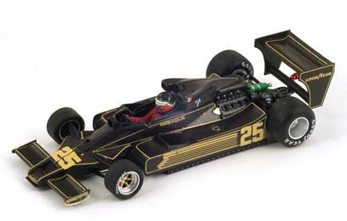 スパーク 1/43 チームロータス78 H.レバーク  1978年ドイツGP NO.25