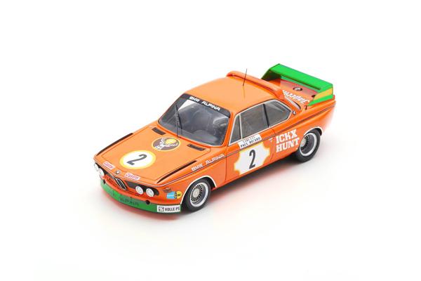 スパーク 1/43 BMW CSL J.イクス-J.ハント 1973年ポールリカール2位 No.2