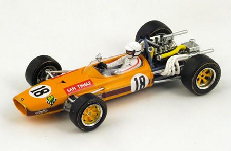 スパーク 1/43 LDS  Sam Tingle 1968年南アフリカGP No.18