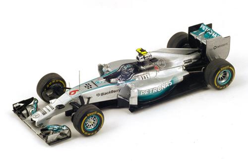 スパーク 1/43 メルセデス W05 N.ロズベルグ 2014年オーストラリアGP優勝