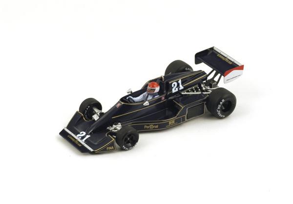 スパーク 1/43 ウィリアムズ FW05 M.ルクエール1976年南アフリカGP No.21