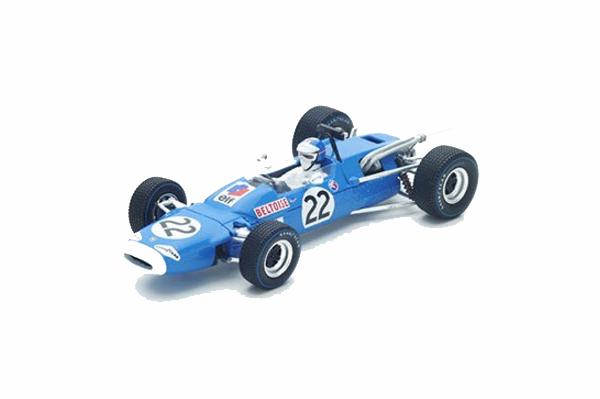 スパーク 1/43 マトラ MS7 J.P.ベルトワーズ  1967年メキシコGP7位 No.22