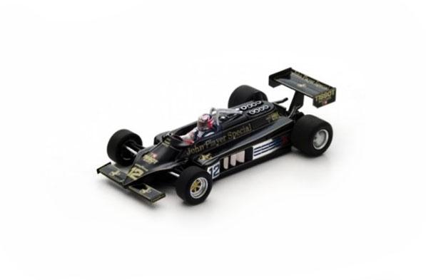 スパーク 1/43 ロータス 87 N.マンセル 1981年アメリカGP No.12