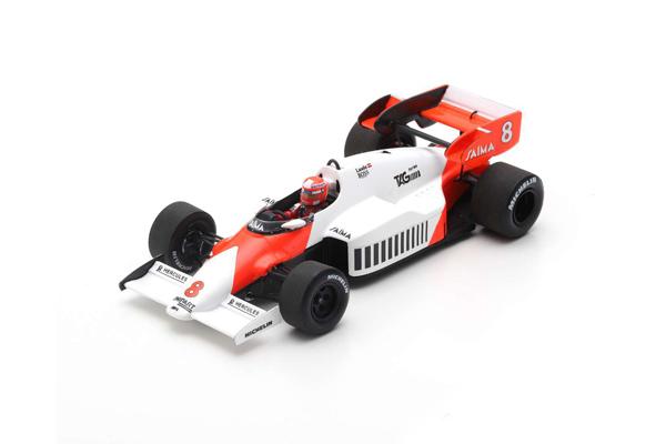 スパーク 1/43 マクラーレン MP4/2 N.ラウダ 1984年イギリスGP優勝 No.8