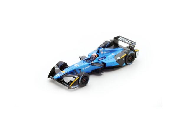 スパーク 1/43 ルノー eダムス フォーミュラE  P.ガスリー No.9 ニューヨークGP-シーズン3 (2016-2017)