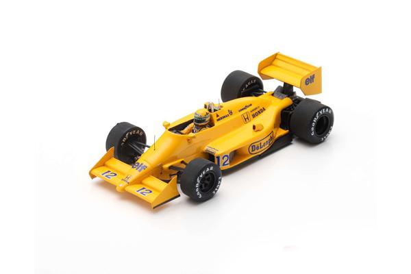 【再入荷】スパーク 1/43 ロータス99T A.セナ 1987年モナコGP優勝 No.12
