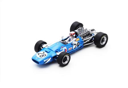 スパーク 1/43 マトラ MS10 J.スチュワート 1968年フランスGP3位 No.28