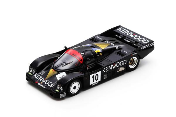"""スパーク 1/43 ポルシェ962C""""KENWOOD""""1986年ルマン24時間レース No.10 J.ガルトナー-S.V.D.メルヴェ-高橋国光"""