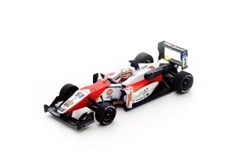 スパーク 1/43 ダラーラ メルセデス F3 SJM セオドールレーシング by プレマパワーチーム L.ストロール 2015年F3マカオGP No.3