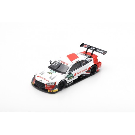スパーク 1/43 アウディ RS 5 R.ラスト アウディスポーツ チームロズベルグ 2019 DTMチャンピオン   No.33